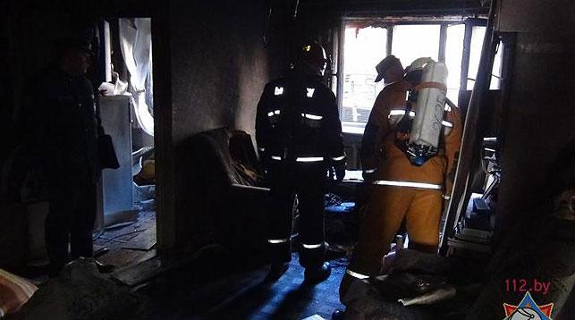 Напожаре вМинске погибла женщина