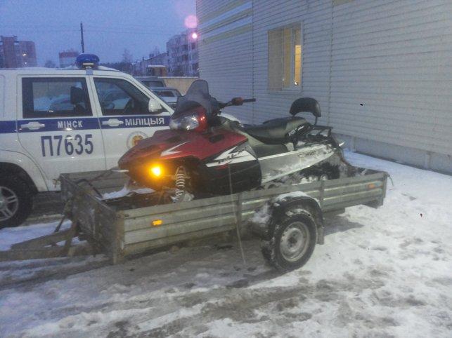 Полиция уже рапортует оборьбе сводителями квадроциклов