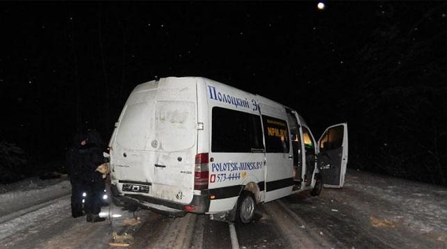 Пассажир маршрутки умер вДТП сбульдозером вУшачском районе