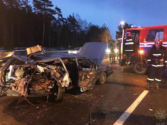 Две пассажирки пострадали всерьезной трагедии навыезде изМинска— ГАИ