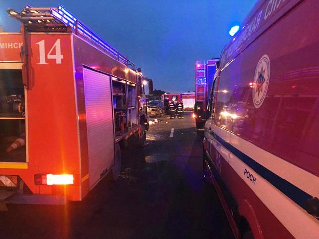 Две женщины пострадали в трагедии слегковушкой имикроавтобусом вМинске