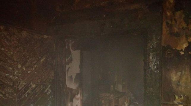 Бабушка и внучка пострадали при пожаре в Дрогичине
