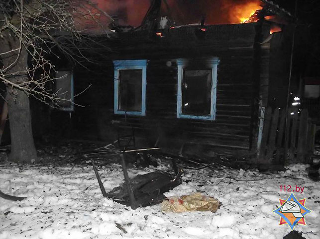 Пожар вМозырском районе: погибли мать исын
