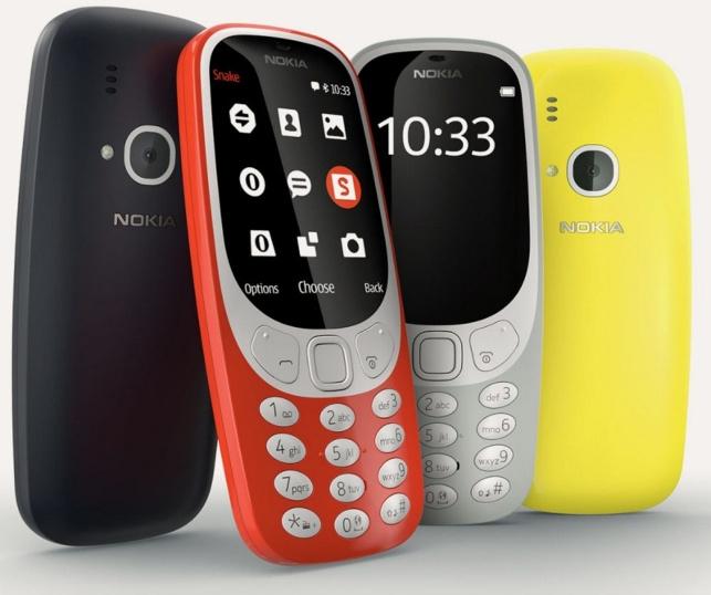 Выпущена новая версия знаменитого телефона нокиа 3310