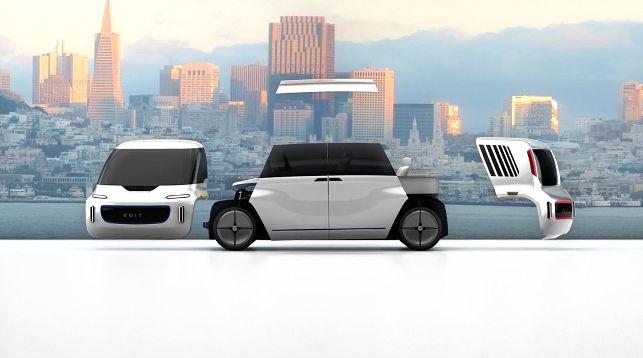 Представлен беспилотный автомобиль-трансформер Edit