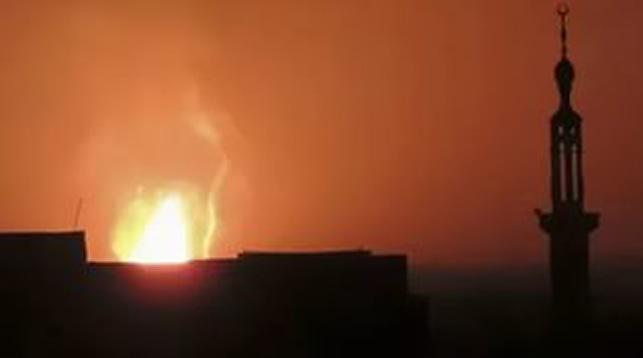 СМИ говорили о подрыве террористами газопровода впровинции Дамаск