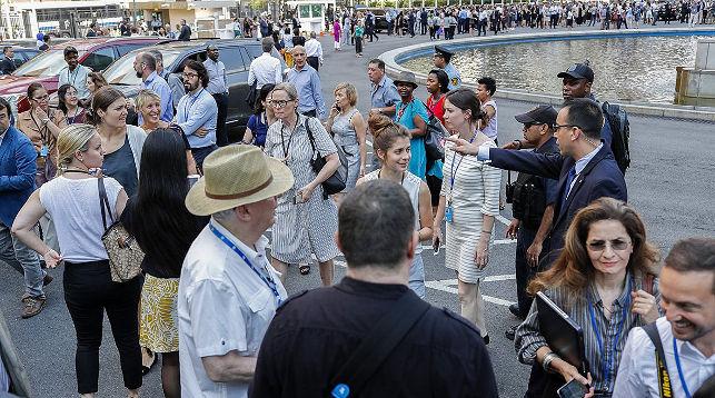 Почти 2 тысячи человек эвакуировали из штаб-квартиры ООН в Нью-Йорке