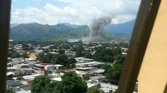 Взрыв наскладе боеприпасов вВенесуэле поломал несколько жилых домов