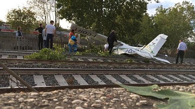 ВРиме потерпел крушение легкомоторный самолет