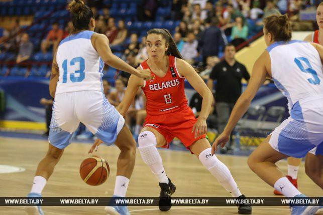 Женская баскетбольная сборная Республики Беларусь выиграла «Кубок Халипского»