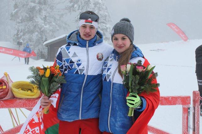 Павел Белько и Дарья Кудаева