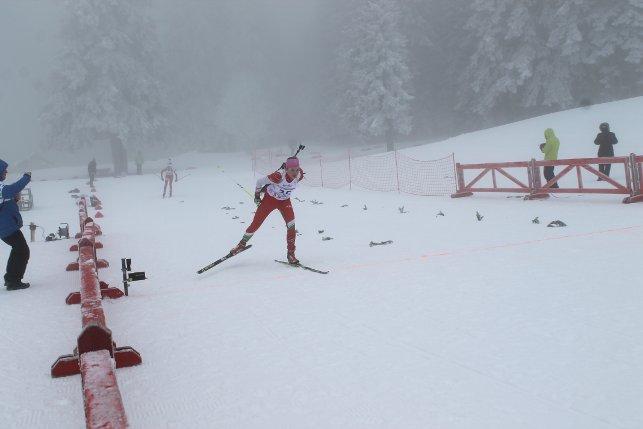 Дарья Кудаева на дистанции