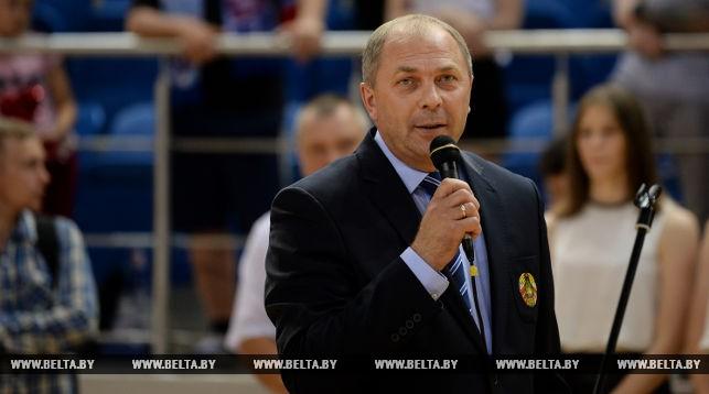 Председатель попечительного совета Белорусской федерации гандбола Иван Носкевич