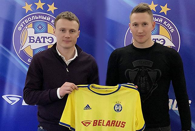 Виталий Родионов и Антон Сарока. Фото ФК БАТЭ