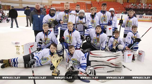 Команда Минской области, занявшая второе место.