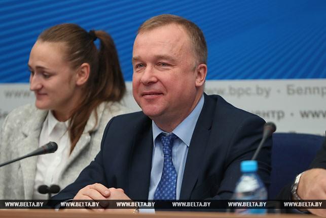 Министр спорта и туризма Беларуси Александр Шамко