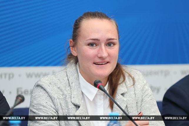 Участница Олимпийских игр 2016 года в Рио-де-Жанейро, чемпионка Европы в метании копья Татьяна Холодович
