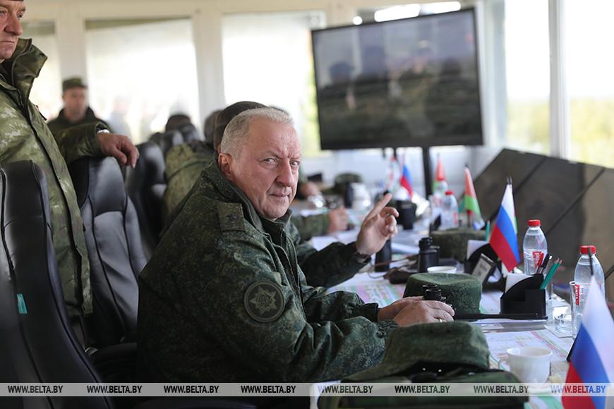 Начальник Генерального штаба Вооруженных Сил - первый заместитель Министра обороны Республики Беларусь Олег Белоконев