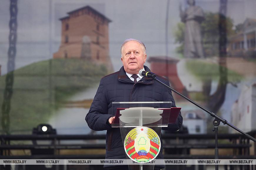 Заместитель председателя Гродненского облисполкома Виктор Лискович