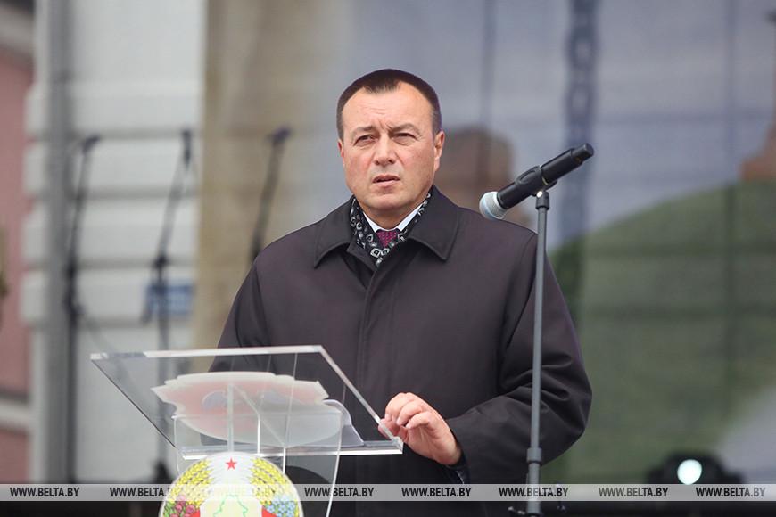 Председатель Новогрудского райисполкома Сергей Федченко