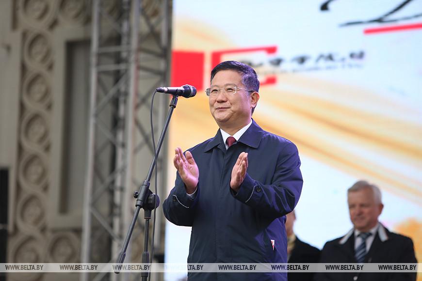 Посол Китая в Беларуси Цуй Цимин