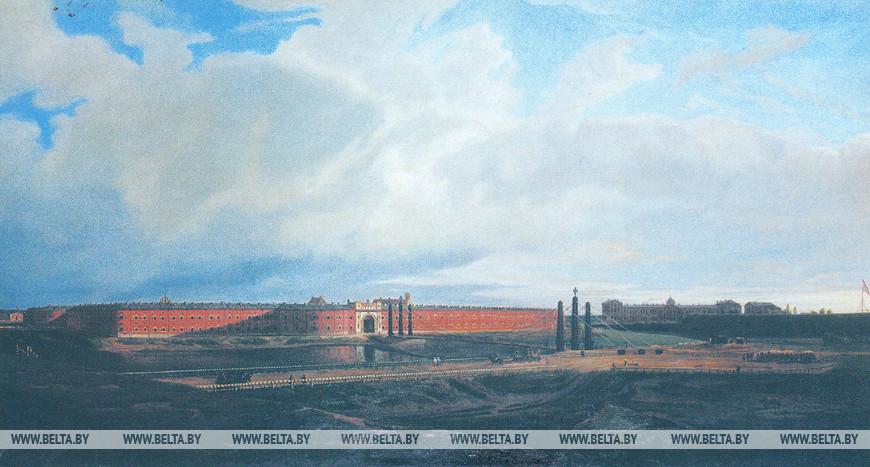 Крепость Брест-Литовск в 1840 г. М.Залесский, 1840 г. (Музей героической обороны Брестской крепости)