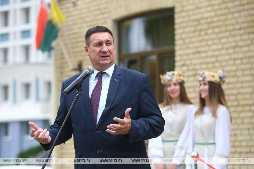 Председатель Белорусской федерации футбола Владимир Базанов