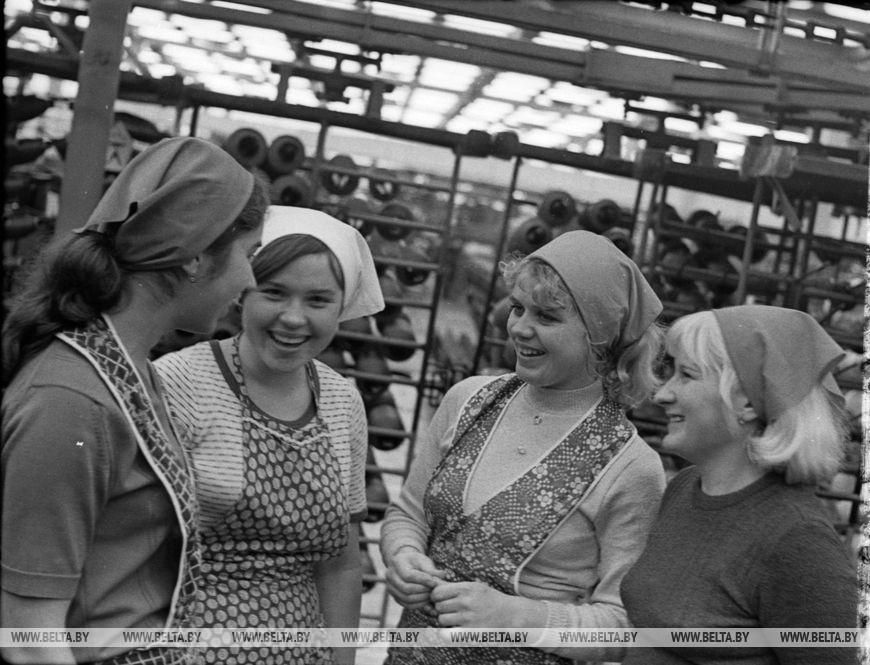 Брестський панчішний комбінат імені 50-річчя СРСР, квітень 1978 року