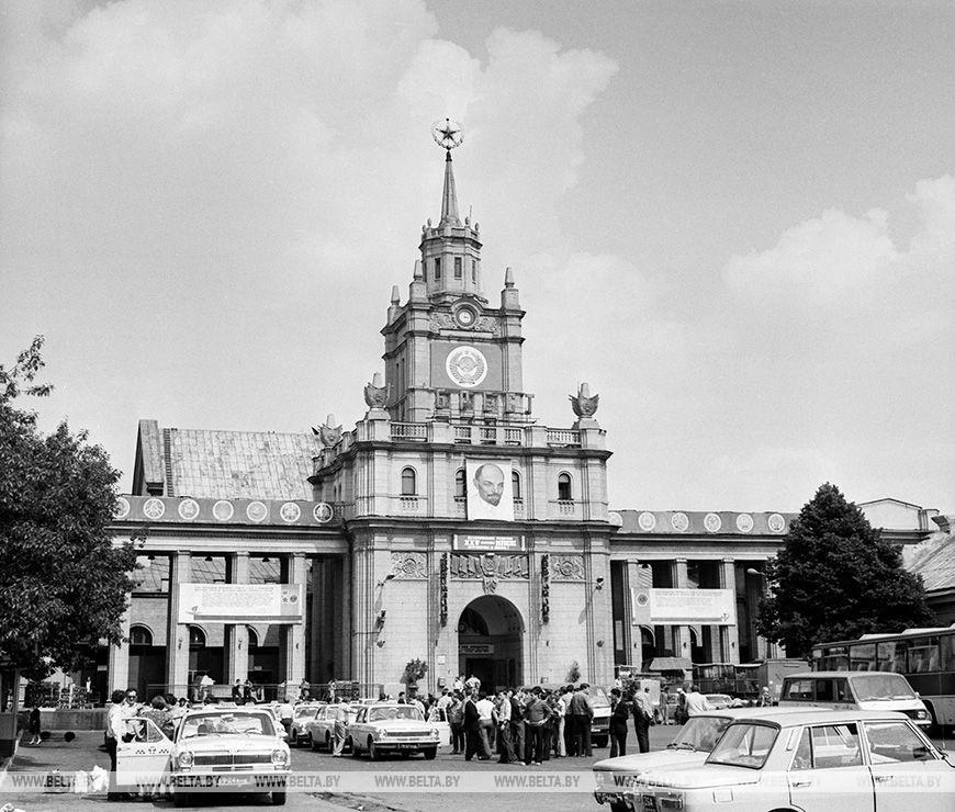 Залізничний вокзал, серпень 1978 року