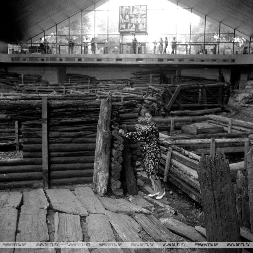 """Археологічний музей """"Берестя"""", червень 1989 року"""