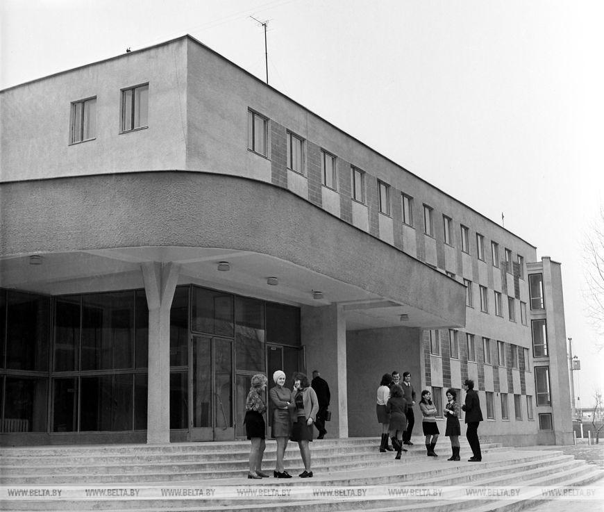 Нове музичне училище в Бресті, березень 1973 року