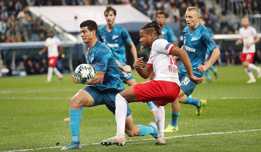 Боруссия зенит результат матча