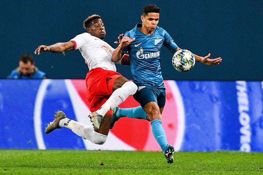 Результат матча зенит- боруссия в лиге чемпионов
