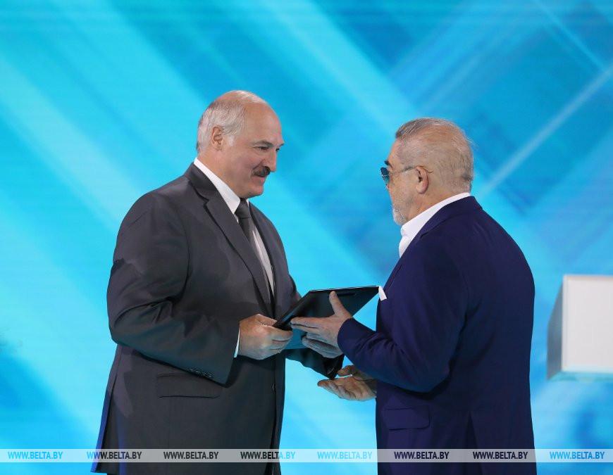 Александр Лукашенко и Александр Ефремов