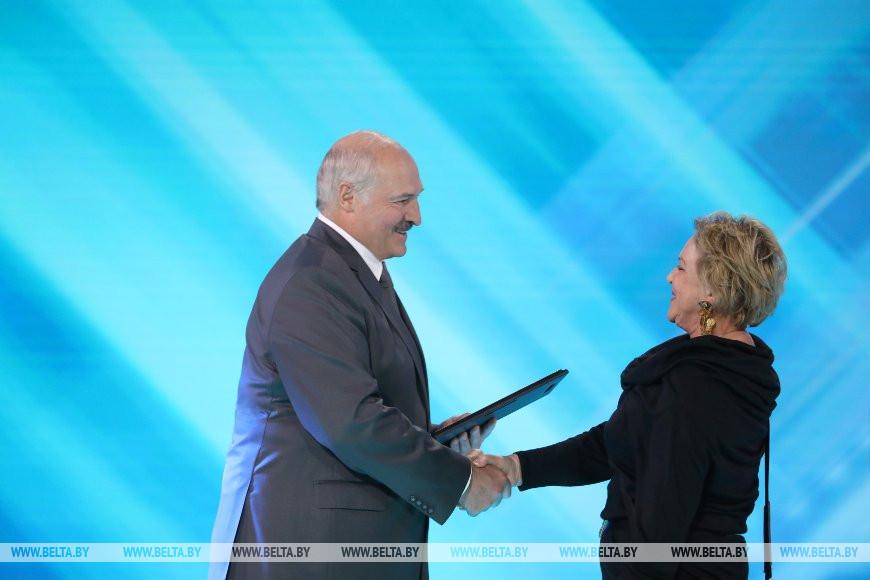 Александр Лукашенко и Ирина Марголина