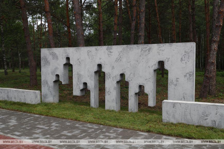 """""""Ола"""" — в Светлогорском районе открыт мемориал в память о жертвах нацистов"""