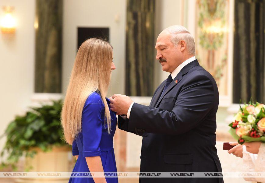 Заслуженным мастером спорта Беларуси стала спортсмен-инструктор национальной команды по радиоспорту Анна Шевеленко