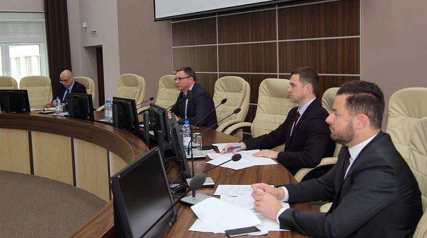 Во время встречи. Фото Министерства экономики