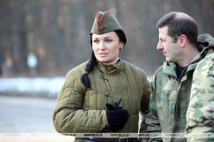 Участница церемонии передачи останков Наталья Парфенова