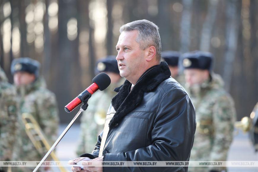 Заместитель председателя Гомельского облисполкома Андрей Конюшко