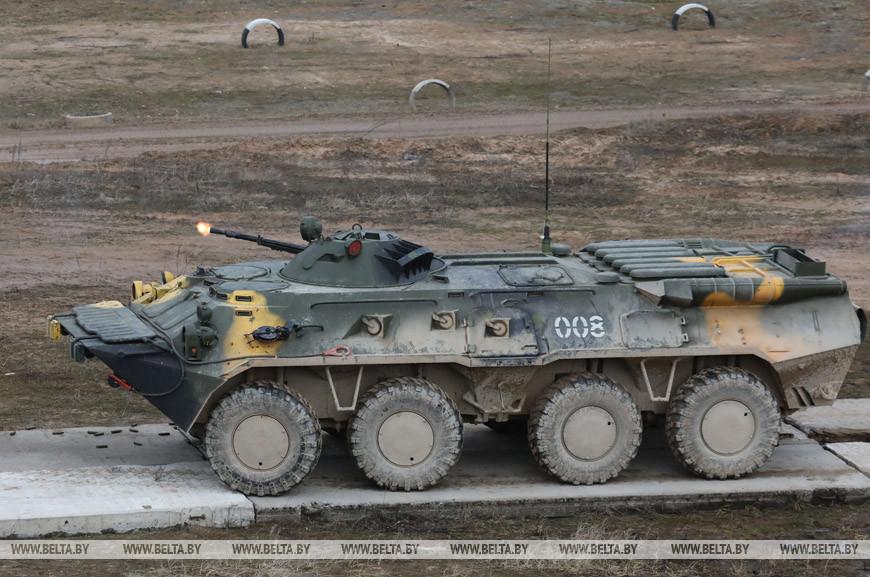 Губернаторов областей Беларуси собрали на военные учения