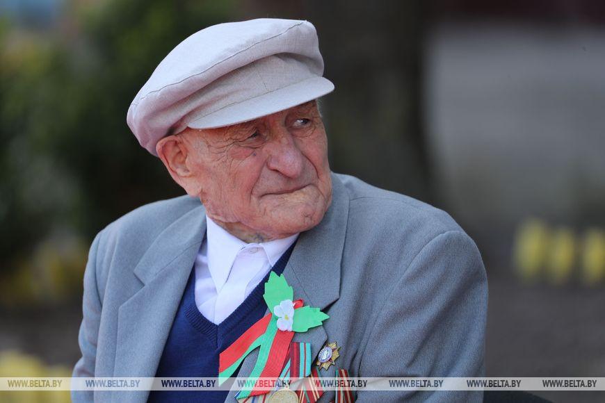 Ветеран Великой Отечественной войны Талгат Ганиев
