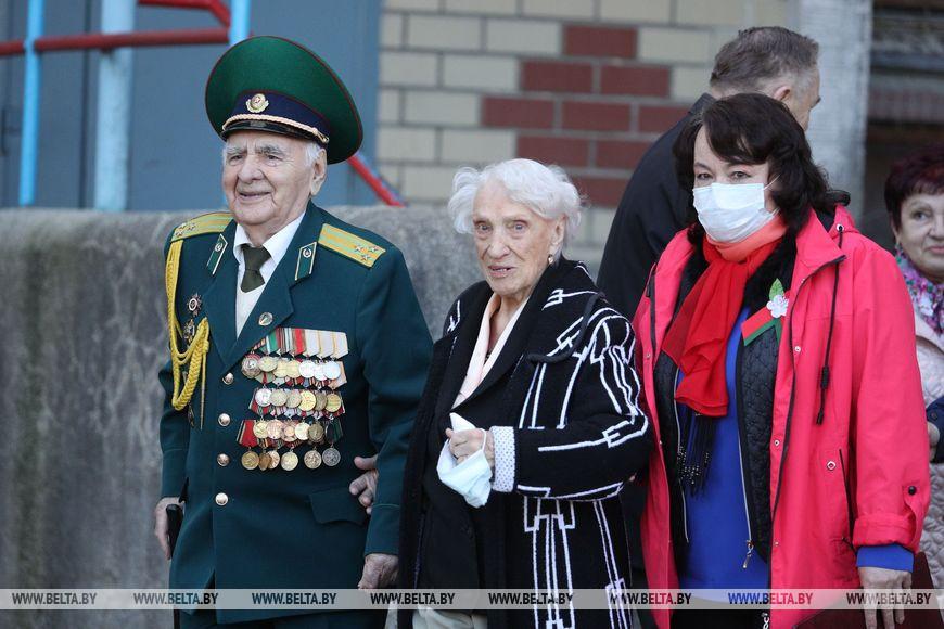 Ветеран Великой Отечественной войны Григорий Обелевский с женой Музой Аркадьевной