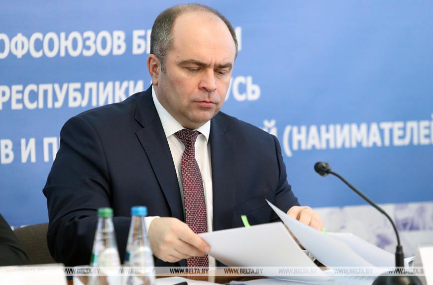 Заместитель премьер-министра Беларуси Игорь Ляшенко