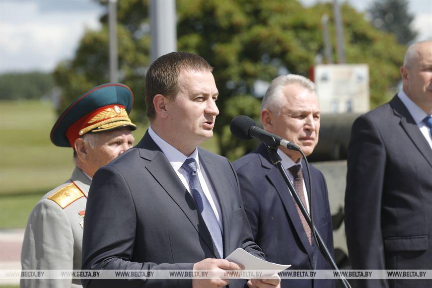 Председатель Минского облисполкома Александр Турчин