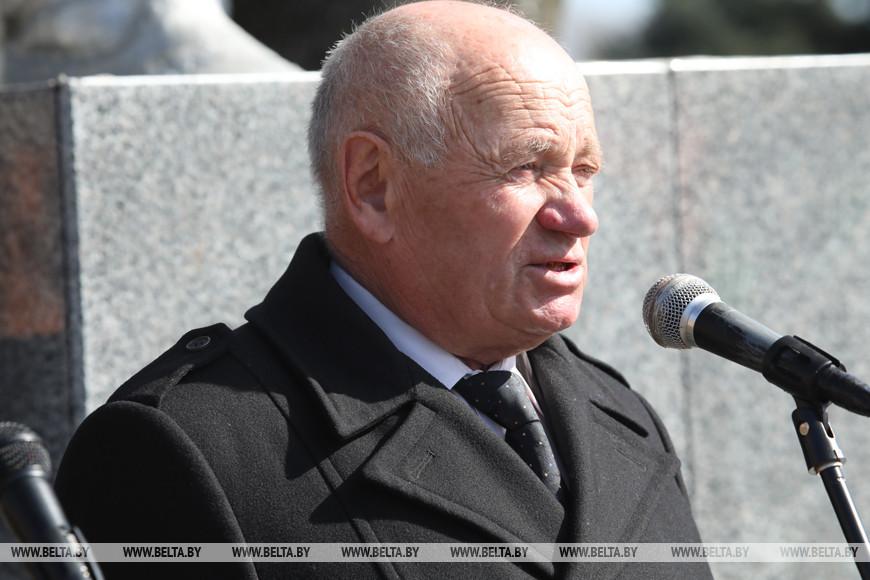 Председатель районной ветеранской организации Адам Купрацевич