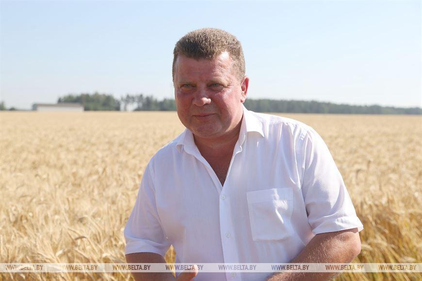 Председатель правления хозяйства Сергей Кремко