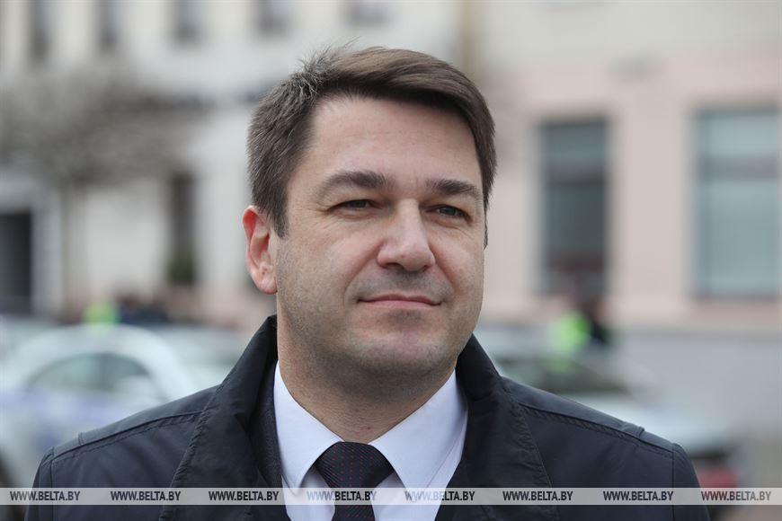 Заместитель председателя Гродненского облисполкома Виктор Пранюк