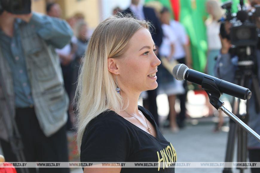 Чемпионка мира по современному пятиборью Ирина Просенцова