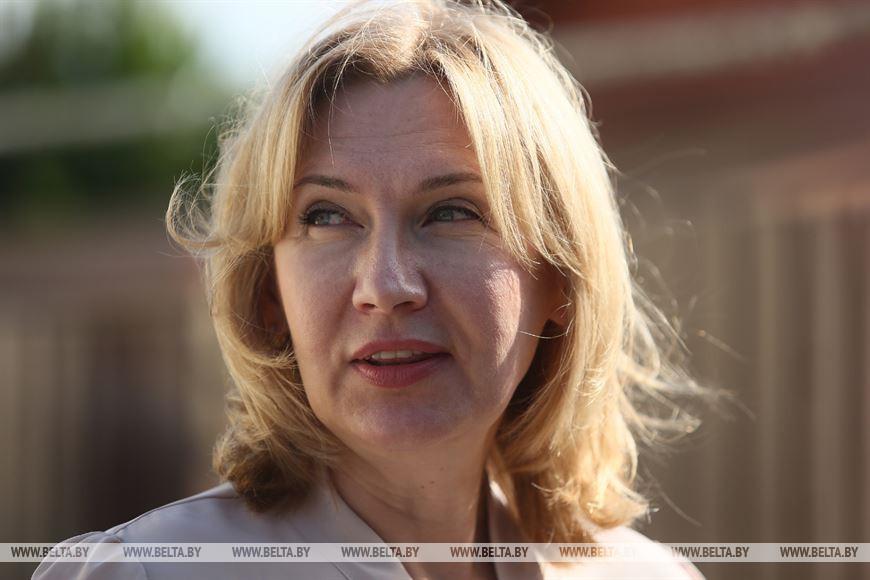 Председатель Белорусской нотариальной палаты Наталья Борисенко